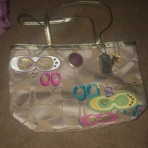 Coach purse, only used a few times.